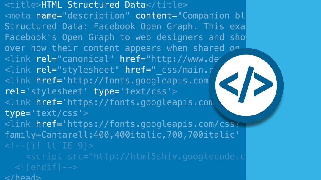 html structurated data