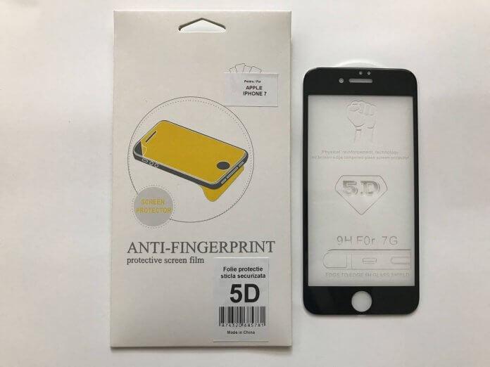 Folie 5D Full Glue iPhone 7