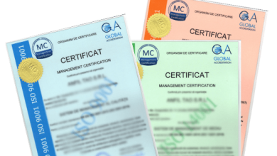 cele mai cunoscute certificate iso