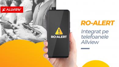 Ro-Alert este integrat pe toate telefoanele Allview