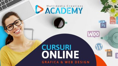 Cursuri video online de GRAFICA si DESIGN WEB