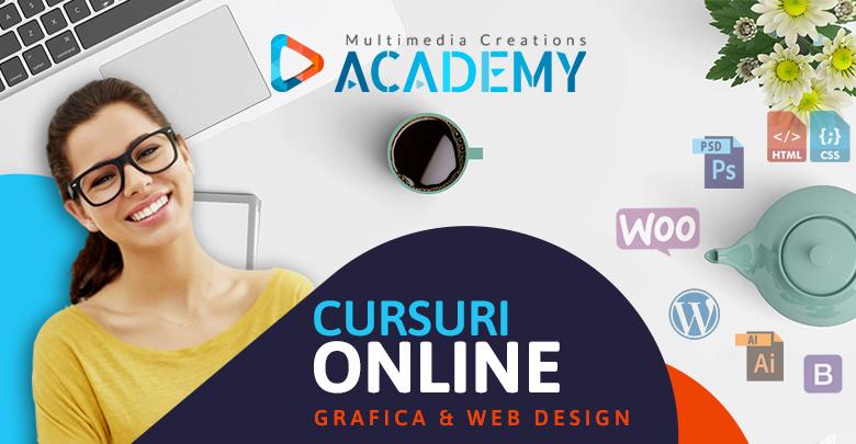 Cursuri video online de GRAFICA si DESIGN WEB